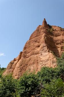 Landschaft der médulas spanien, weltkulturerbe