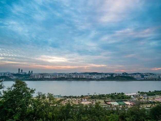 Landschaft der stadt seoul