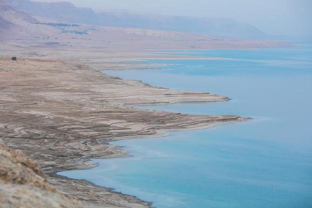 Landschaft des toten meeres