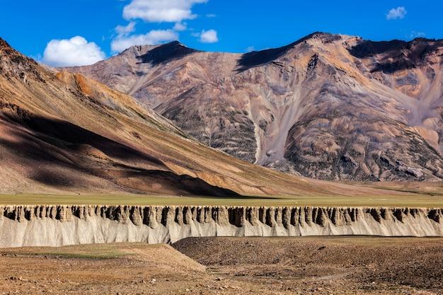 Landschaft im himalaya. himchal pradesh, indien