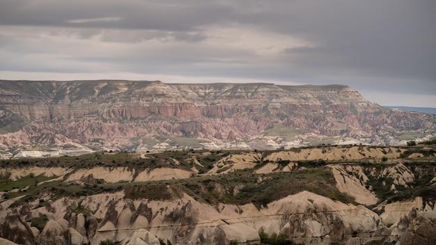 Landschaft in goreme, cappadocia, die türkei.