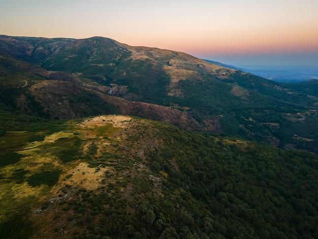 Landschaft in sierra de tormantos in der nähe von piornal.