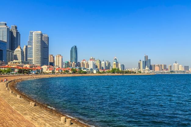 Landschaft schöne sand business tower stadt