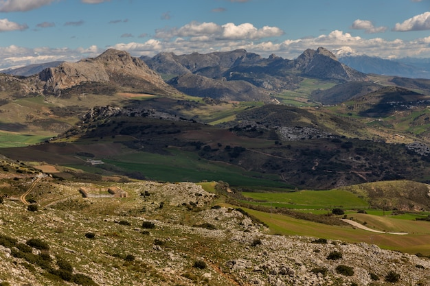 Landschaft vom torcal