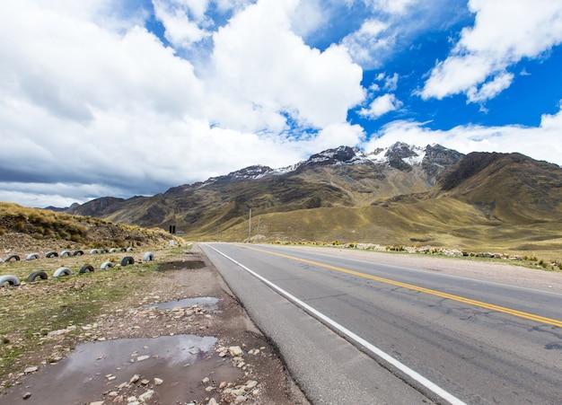 Landschaft von arequipa, peru
