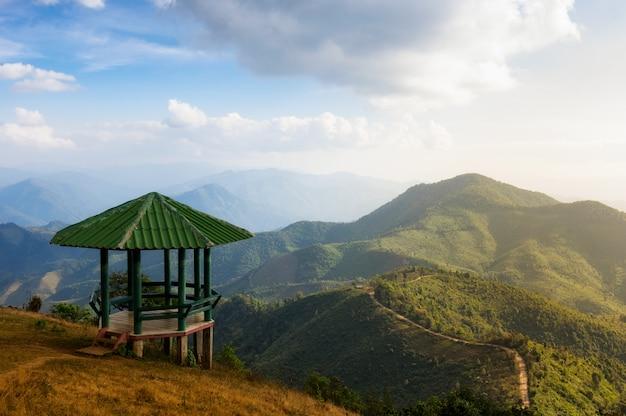 Landschaft von doi pui co.