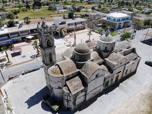Landschaft von zypern alte kirche