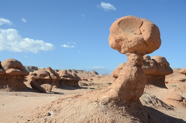 Landschaft wüste goblin felsen rock valley utah