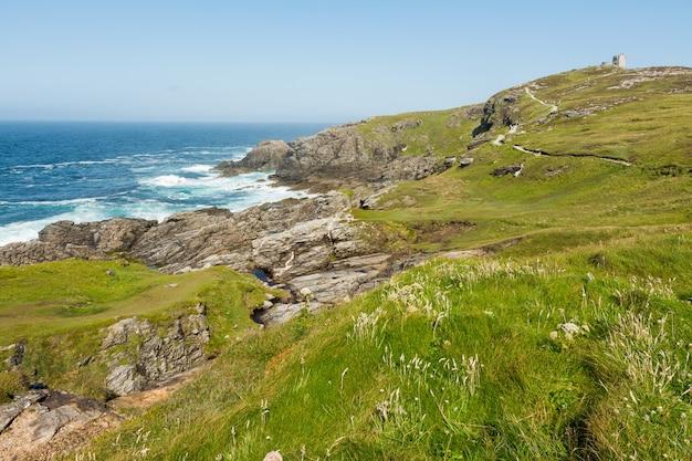 Landschaften irlands. malin head in donegal