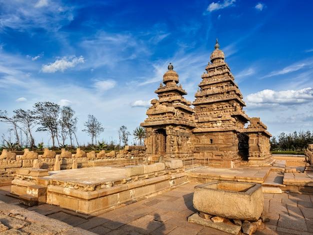 Landtempel in mahabalipuram, tamil nad