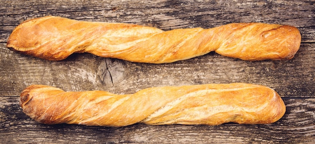 Lange französische baguettes