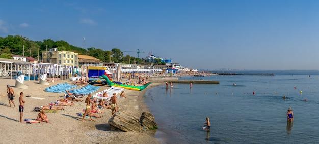 Langeron beach in odessa, ukraine