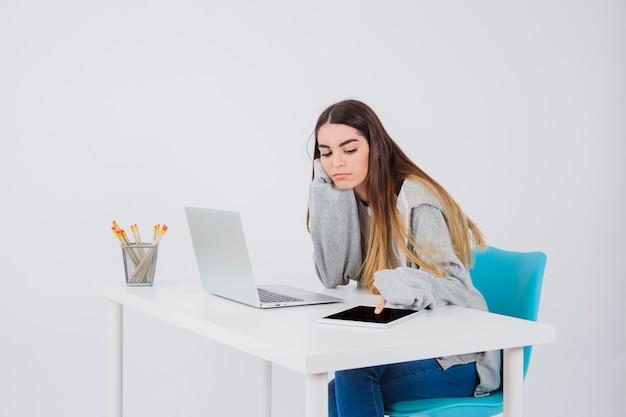 Langeweile bei der arbeit
