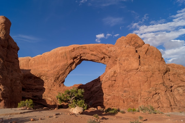 Lanscape der arches national park in utah, usa.