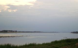 Laos mekong fluss