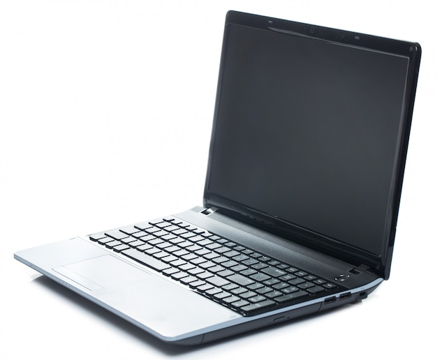 Laptop öffnen
