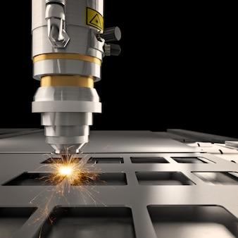 Laser-schneide-maschine