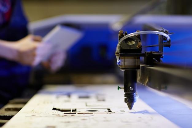 Lasergeschnittene industrie