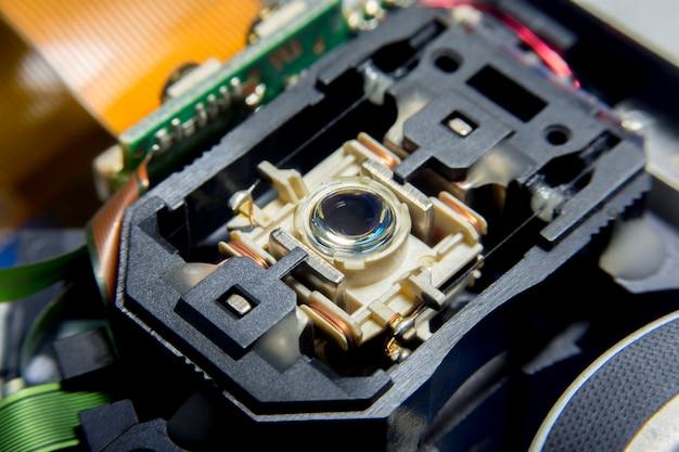 Laserkopfleser von cd-player-systemausrüstung