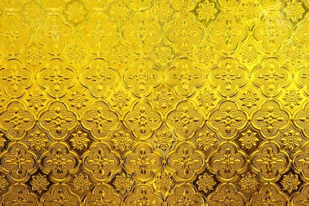 Lass gelb oder goldantike gestreiften muster textur hintergrund
