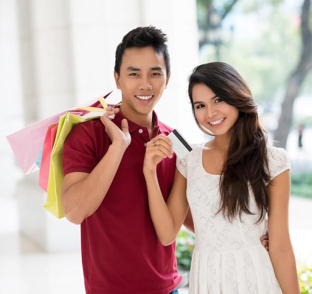 Lass uns einkaufen gehen!