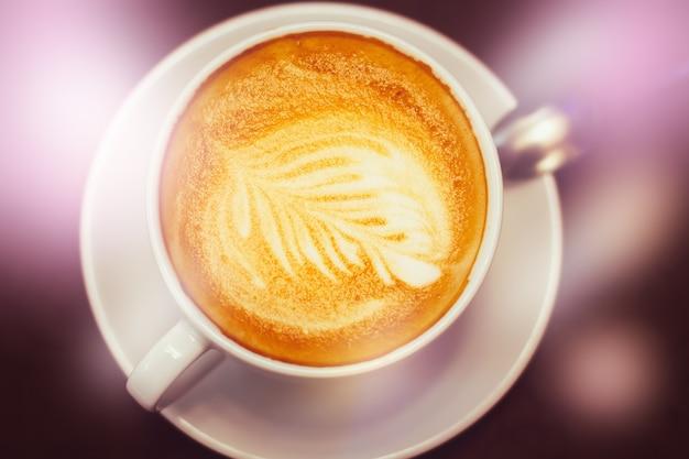 Latte kaffeekunst