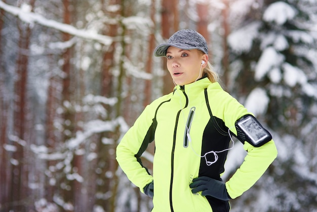Laufen ist ein weg, um einen gesunden lebensstil zu bewahren