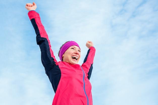 Laufen und sportlicher erfolg