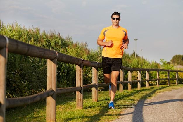 Laufender mann