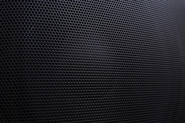 Lautsprecher wabengrill hintergrund