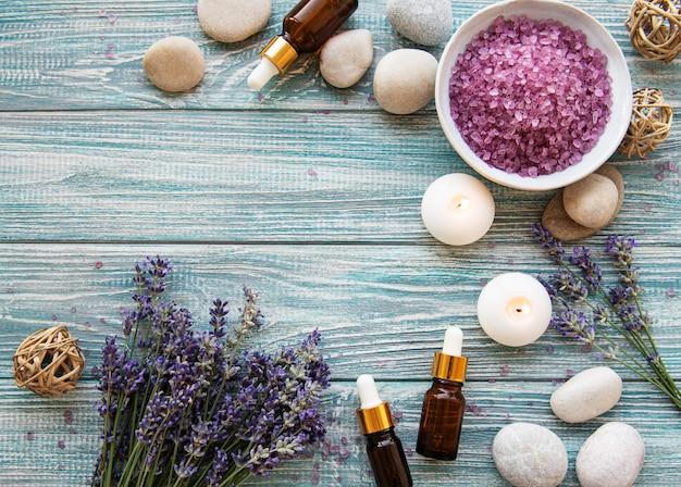 Lavendel spa-produkte