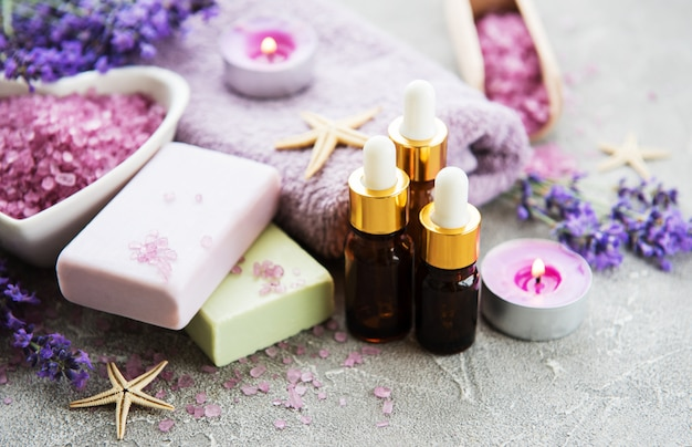 Lavendel spa-set