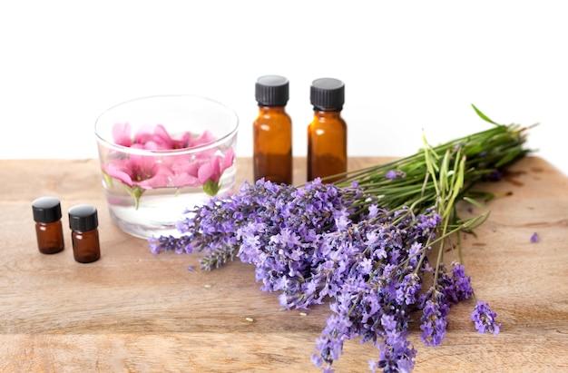 Lavendel und ätherische öle