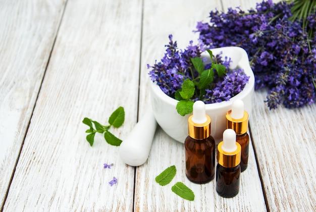 Lavendel- und massageöle