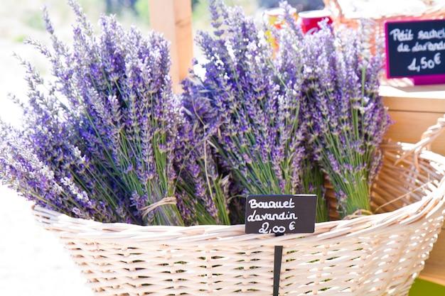 Lavendelladen in der provence
