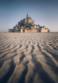 Le mont-saint-michel in der normandie, frankreich