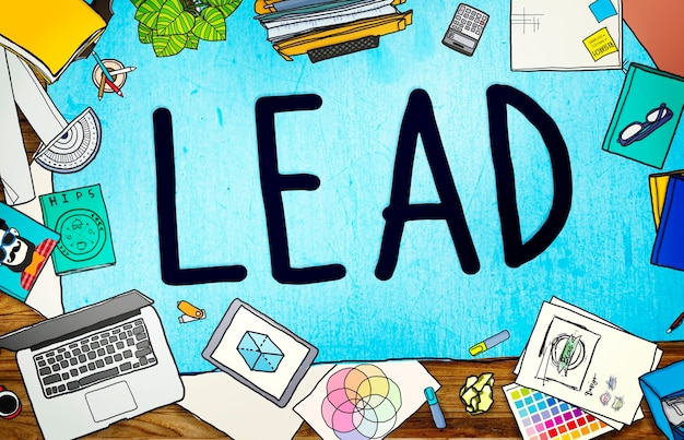 Lead leadership chief team partnerschaftskonzept