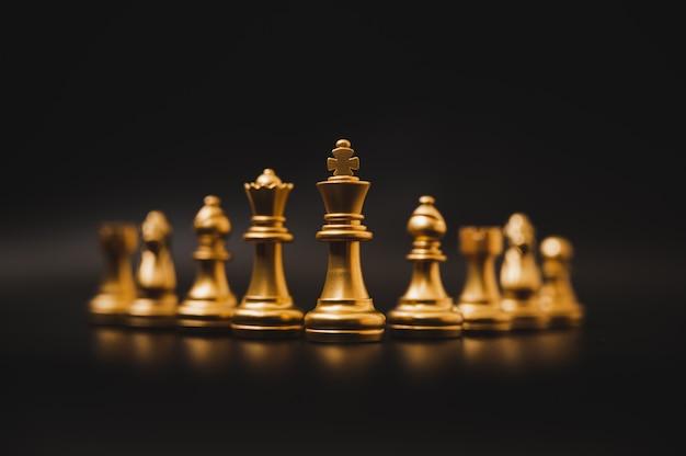 Leader und success business wettbewerbskonzept