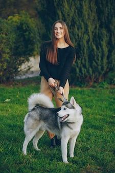 Leben hose schlittenhunde lächeln modell
