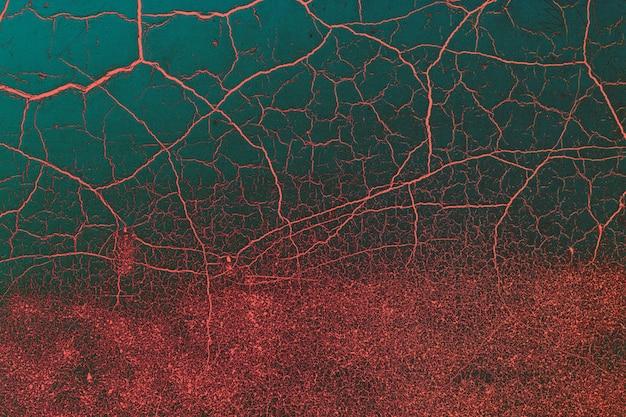 Lebende korallenrote zusammenfassung des dunklen türkises