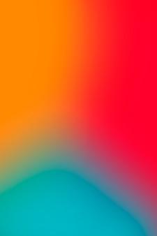 Lebendige abstrakte farben in der steigung