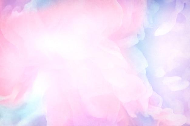 Lebendige rosa aquarellmalerei hintergrund