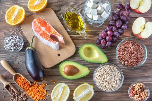 Lebensmittel, die eine cholesterinarme diät anbieten