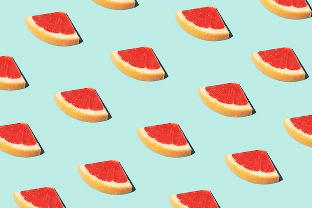 Lebensmittel mode lebensmittel muster mit pampelmusen
