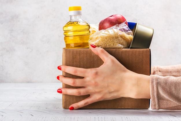 Lebensmittelspendenbox
