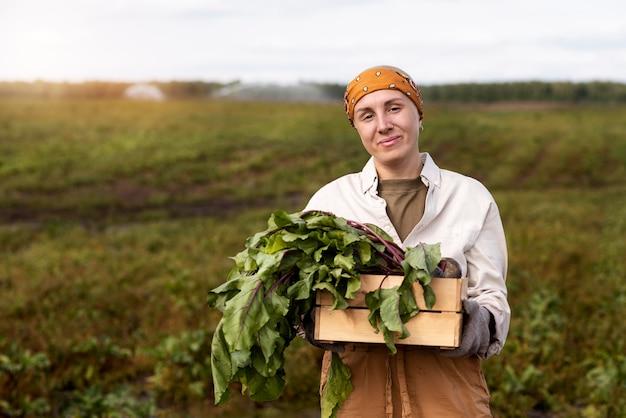 Lebensstil einer umweltfreundlichen person