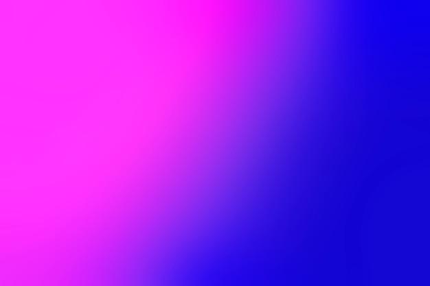 Lebhafte schattierungen von farben in unschärfe