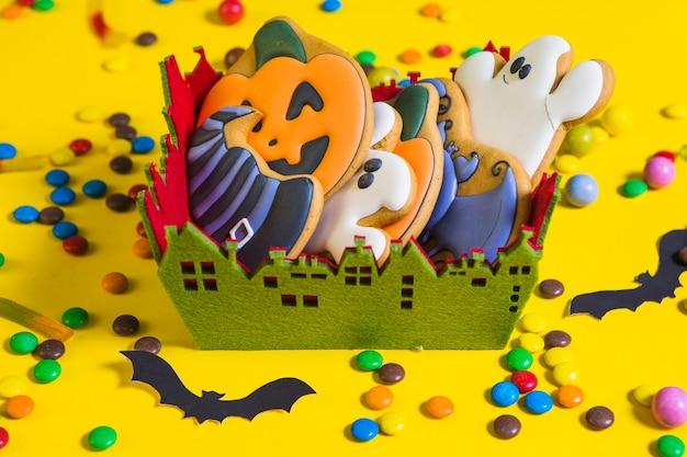 Lebkuchen im kleinen kasten