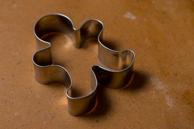 Lebkuchenmann metallform