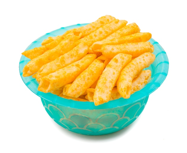 Lecker gewürzter pommes frites snack